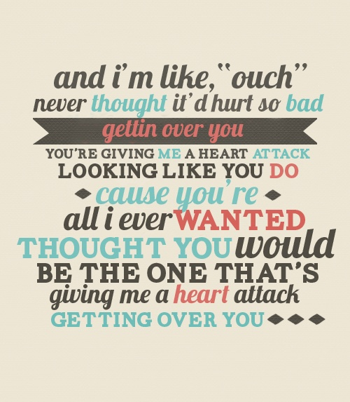 One Direction Song Lyrics Quotes: Heart Attack: One Direction