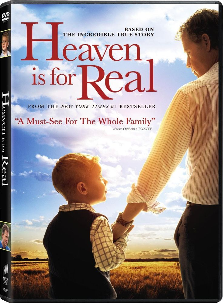 Checkout the movie 'Heaven is For Real' on Christian Film Database: http://www.christianfilmdatabase.com/review/heaven-is-for-real/