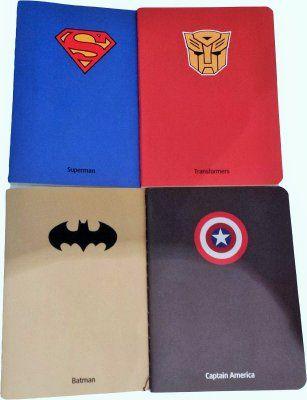 Skrivbok Superhjältar
