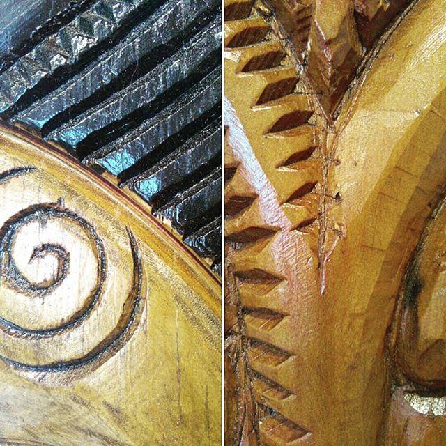 Woodcarving/Woodcraft/Maori Art/Maori Carving/NZ/Kiwi