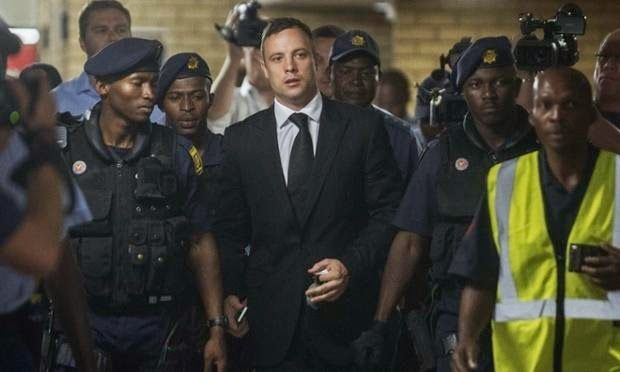 NIGERIAN TOP SECRET: Oscar Pistorius Jailed for 5 Years