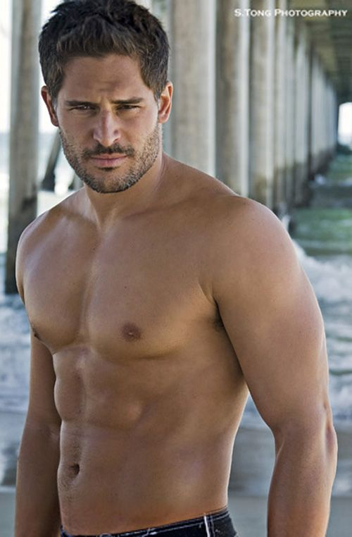 True Blood/Alcide (Twilight fans can keep there puppies, my votes for the grown up wolves! :))