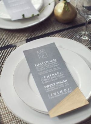 Oh So Beautiful Paper: Wedding Stationery Inspiration: Gray and White