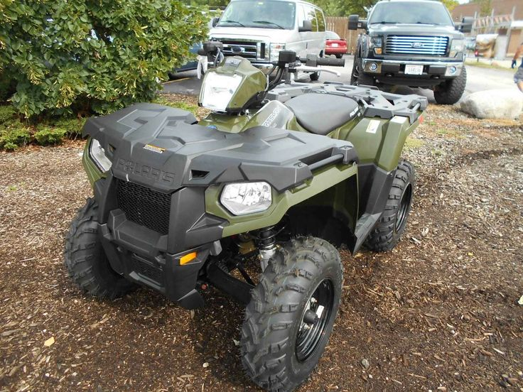 New 2016 Polaris Sportsman® 450 H.O. EPS ATVs For Sale in Wisconsin. Powerful 31 horsepower ProStar® engine Legendary Independent Rear Suspension with 9.5 inches of travel Lock & Ride® rack with integrated steel tie downs Operational: - Steering: Electronic power (EPS)