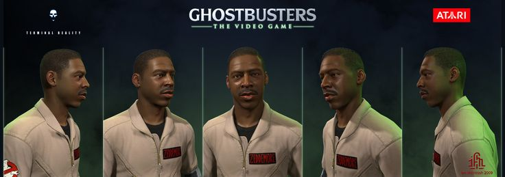 ArtStation - Ghostbusters the Video Game - Winston Zeddemore, Ian McIntosh