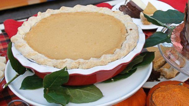 Pumpkin Cheesecake Pie Recipe | Buddy Valastro | Recipe - ABC News