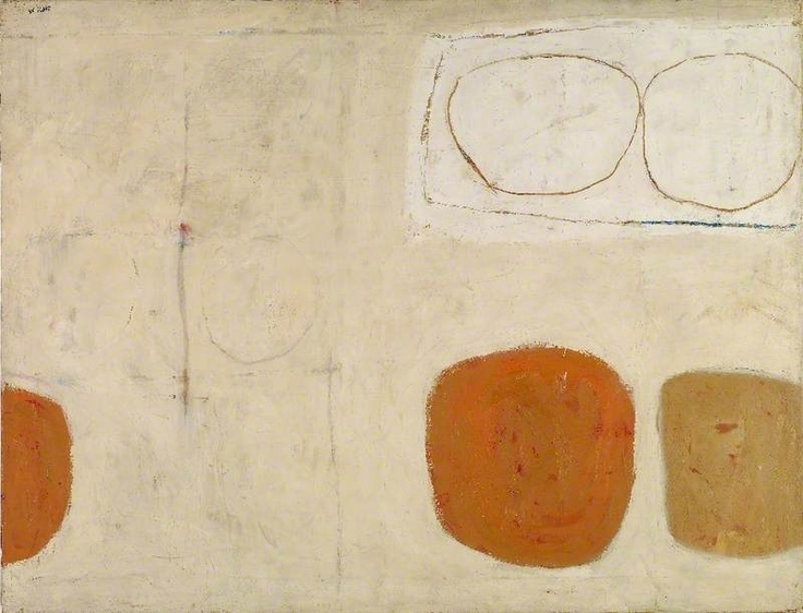 Painting 1959 by William Scott (1959) Oil on canvas, 86.3 x 111.8 cm