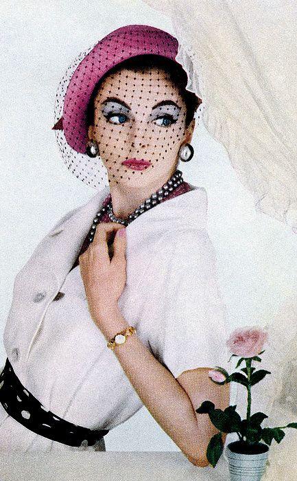 1957 fashion photographs by Richard Dormer