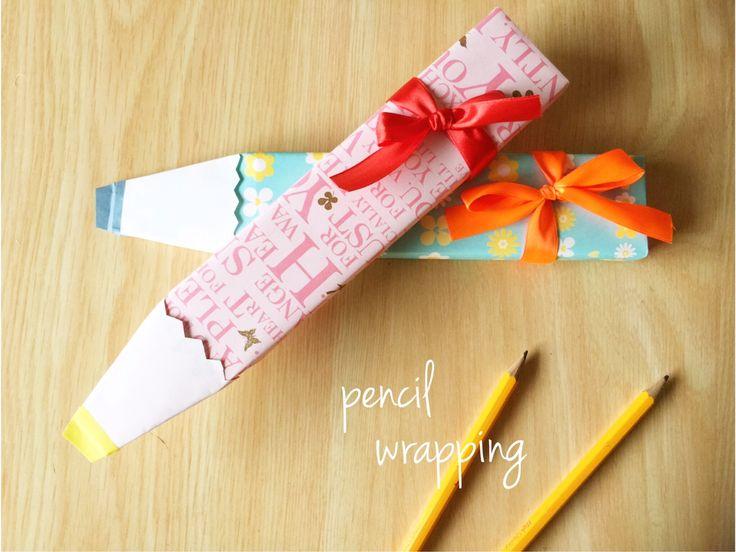 ちょこっとプレゼントにおすすめの鉛筆。卒園してお別れしてしまうお友達や、4月に入学を控えている親戚にプレゼントする方も多いのでは?そこで今回は、子どもが喜びそうな鉛筆ラッピングをご紹介!万年筆や腕時計など細長いものなら何…