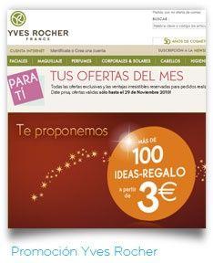 Promoción web #YvesRocher #trabajos #SimboloGrafico