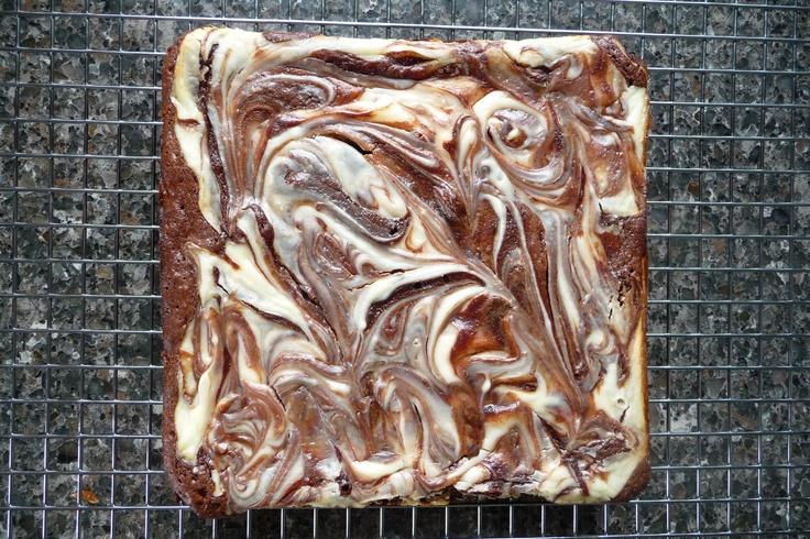 Crazy Marbled Brownies