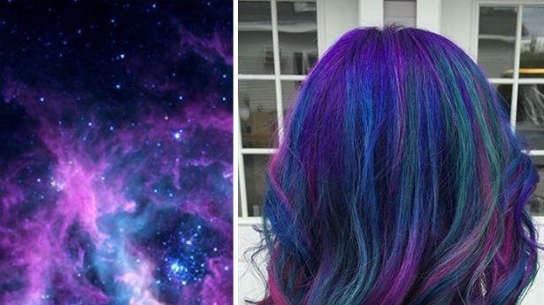 what to wear tomorrow ?: Saçlarda Galaxi Akımı