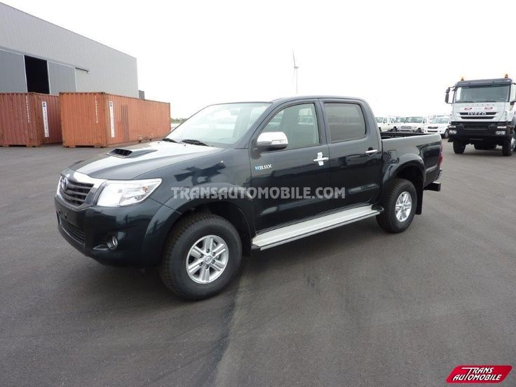 Toyota Hilux / Vigo Pick up Double cabine 3.0L D4D SR 4X4 (to sale) https://www.transautomobile.com/en/export-toyota-hilux-vigo-pick-up-double-cabine/1218?PI