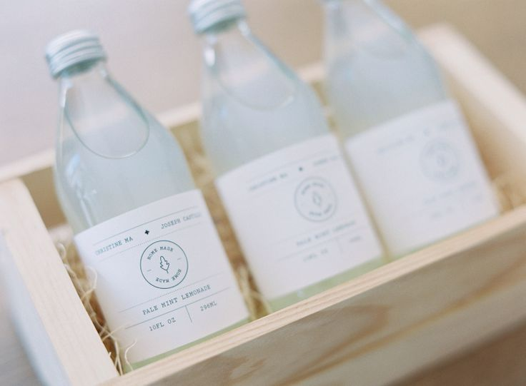 Packaging Design, Pale Mint Lemonade #packaging #packagingdesign #design http://www.pinterest.com/designeurnet/