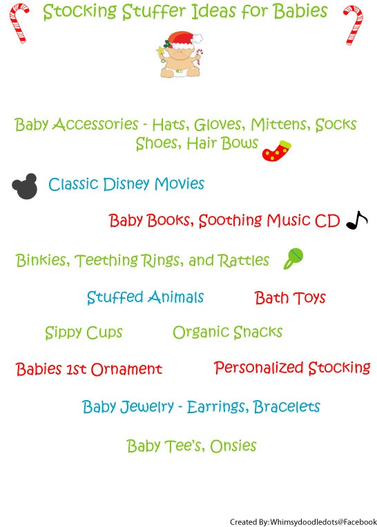 Stocking stuffer ideas for babies