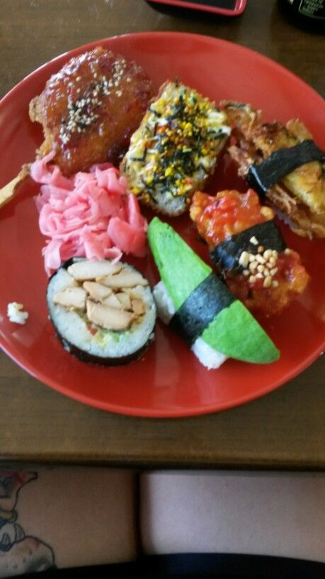 Asorted sushi from mums sushi dannevirke 7/10