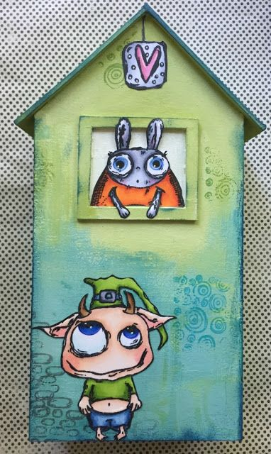 PaperArtsy: NEW {Zinski Art} with Corrie Herriman
