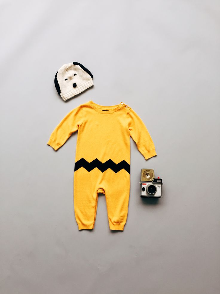 good grief! this charlie brown-inspired onesie is too cute for words. catch the limited time GapKids + Peanuts® collection of cool classics and new favorites on gap.com.