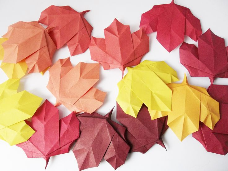 17 Best images about origami leaves on Pinterest | How to ... - photo#45