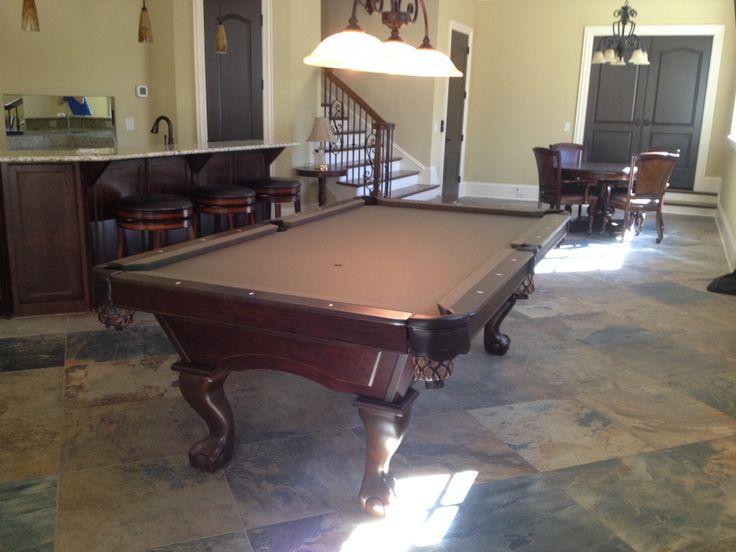 Brunswick acton pool table install near greensboro nc for Table 6 greensboro nc