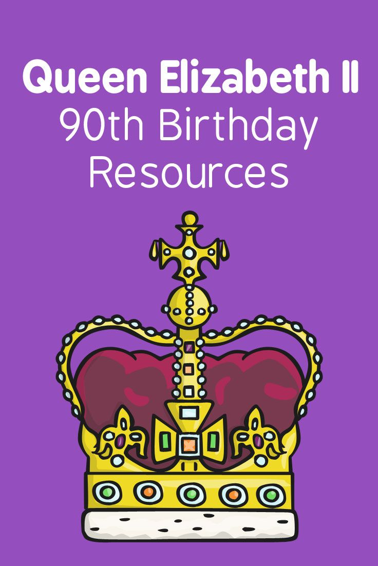 Help celebrate Queen Elizabeth II's 90th birthday with these resources