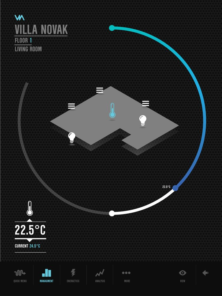 VIA - Buidling Management App for Home Automation.