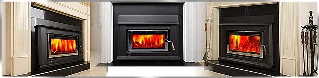 Clean Air wood heaters including the Clean Air zero clearance wood fireplaces by Abbey Fireplaces.