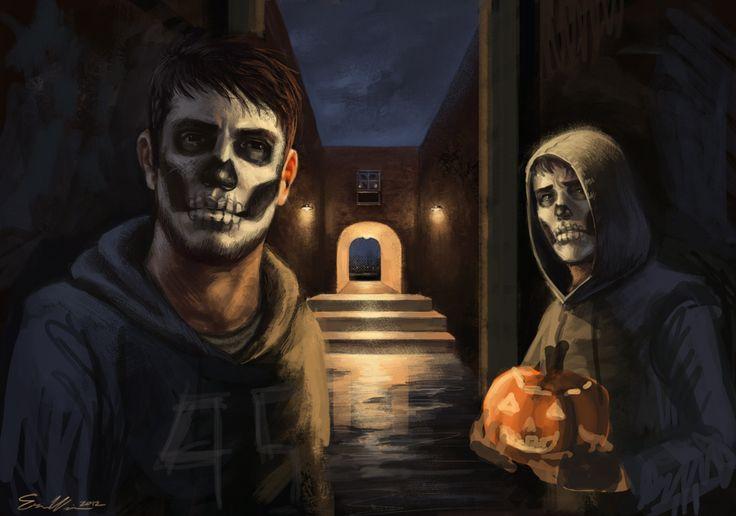 Cry of Fear - Simon and David skullface