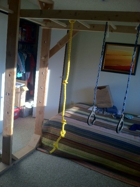 monkey bars for basement