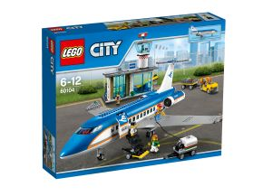 Flygplats – passagerarterminal, Lego City Airport (60104)