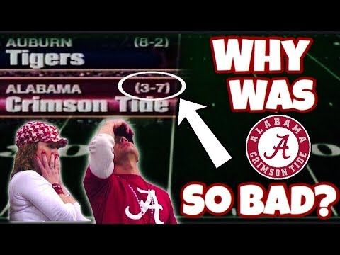 Remember When Alabama SUCKED At Football? - YouTube