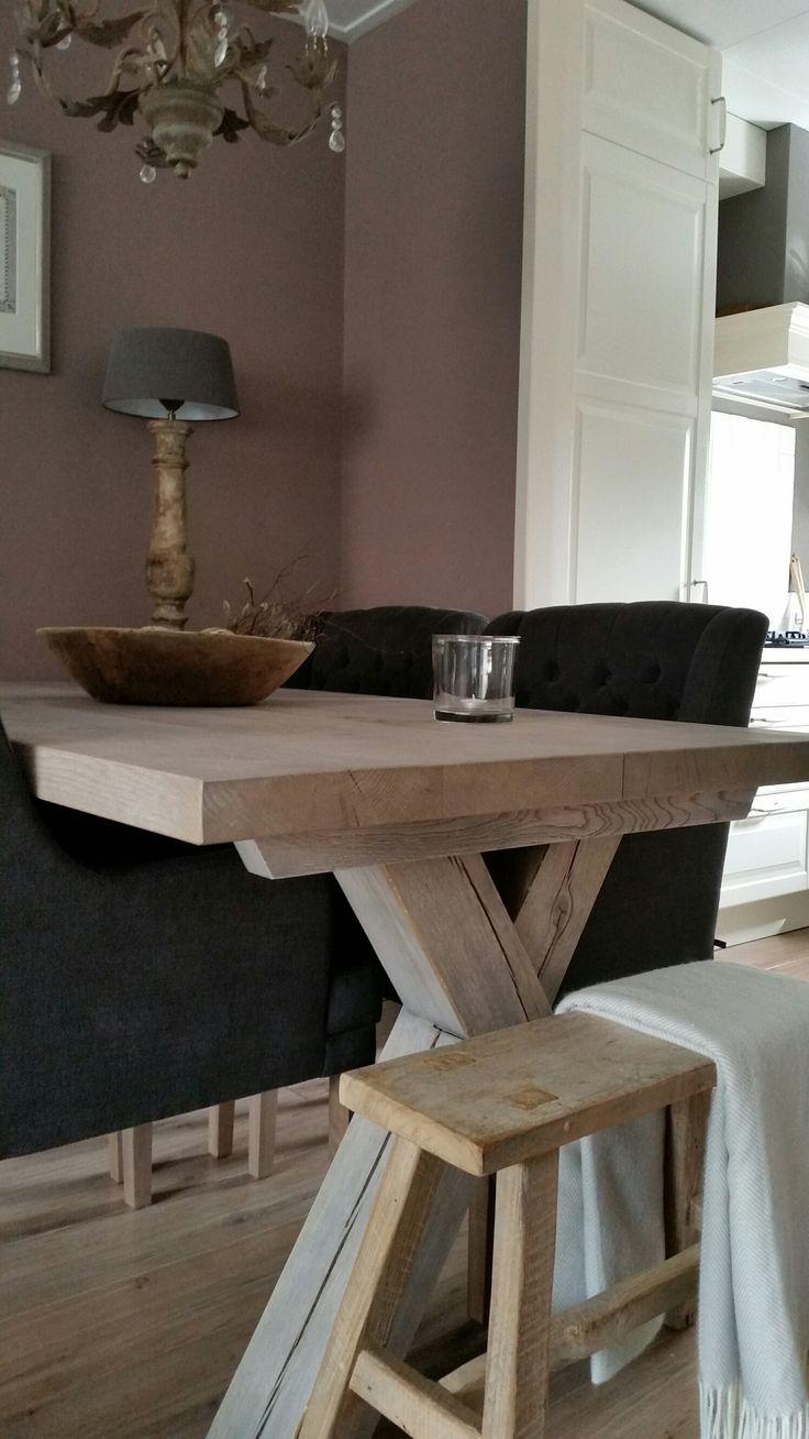 Meer dan 1000 ideeën over Tafel Bankje op Pinterest - Koffietafel ...