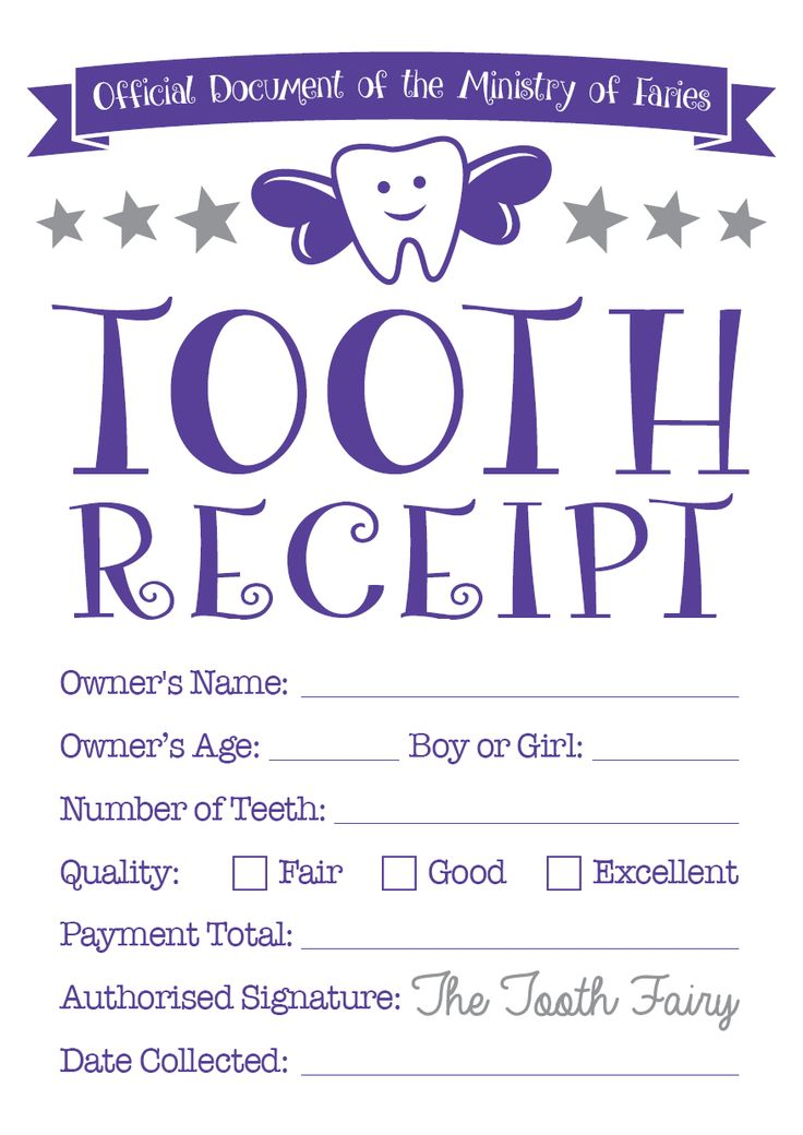 Best 25+ Tooth fairy receipt ideas on Pinterest Tooth fairy - printable receipt free