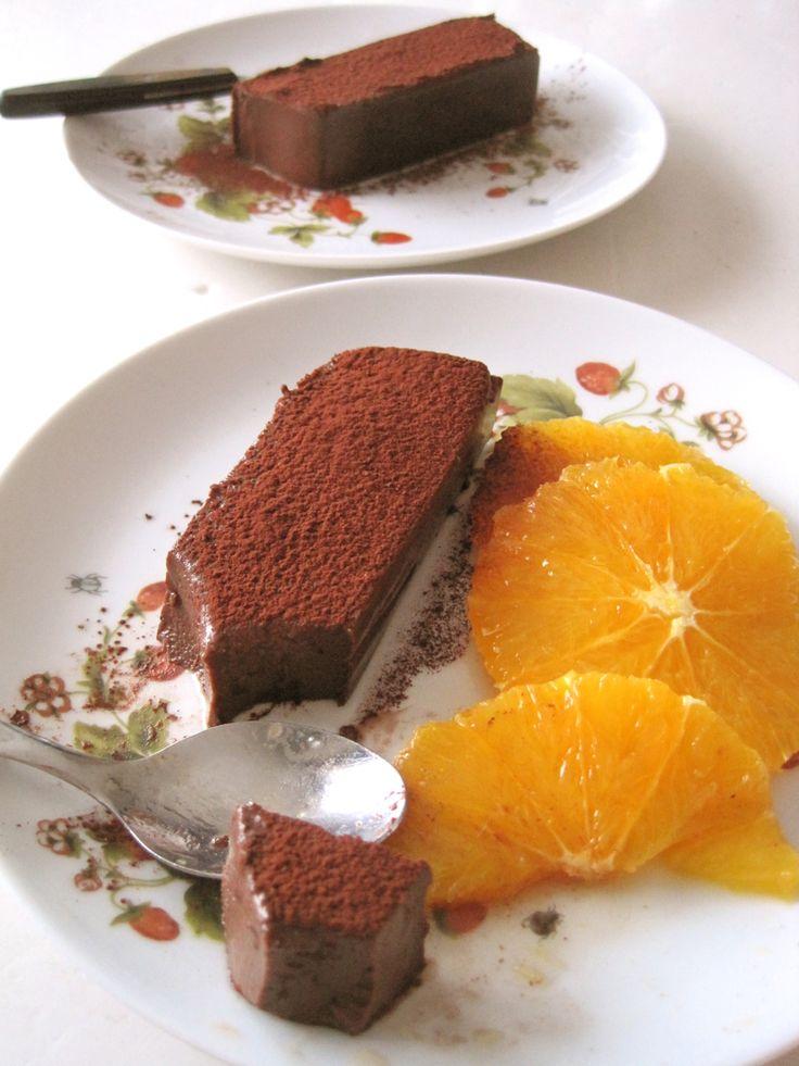 Sabor Saudade - Chocolate and Hazelnut pudding