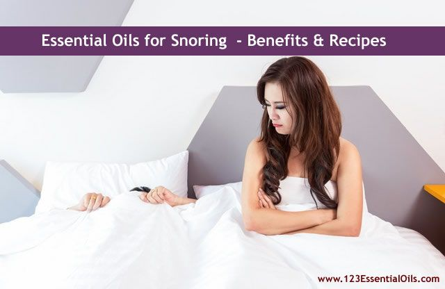 Best Essential Oils for Snoring – Benefits & Recipes