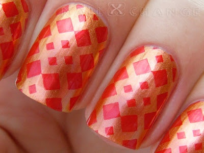 nailXchange: NOTD: Lilacquer Roo-Bee Rhod + BM-322