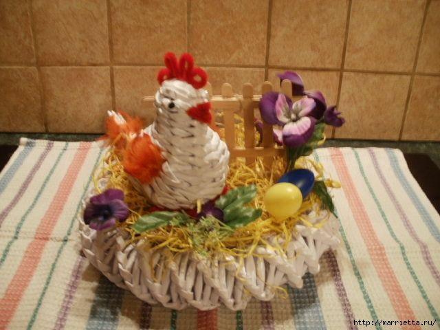 Пасхальные яйца из газетных трубочек. Идеи и мастер-класс (51) (640x480, 160Kb)
