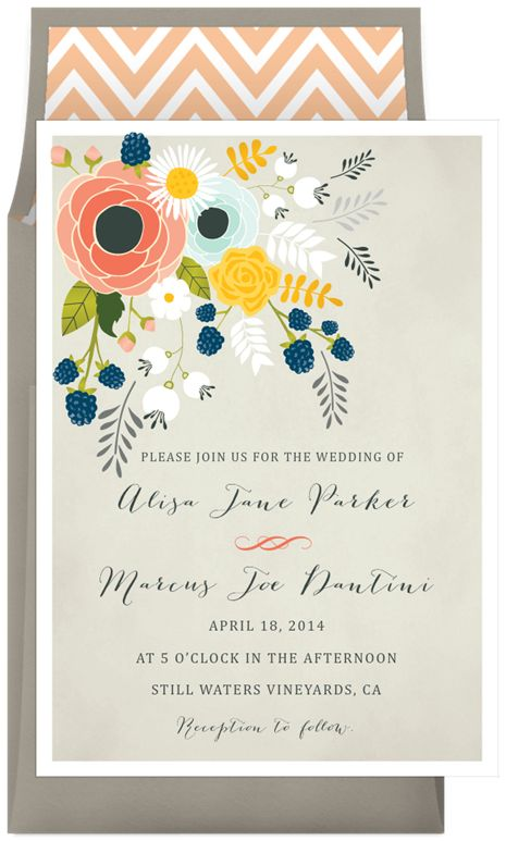 Borrby lantern wedding invitations
