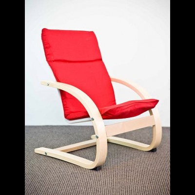 Mocka chair in red
