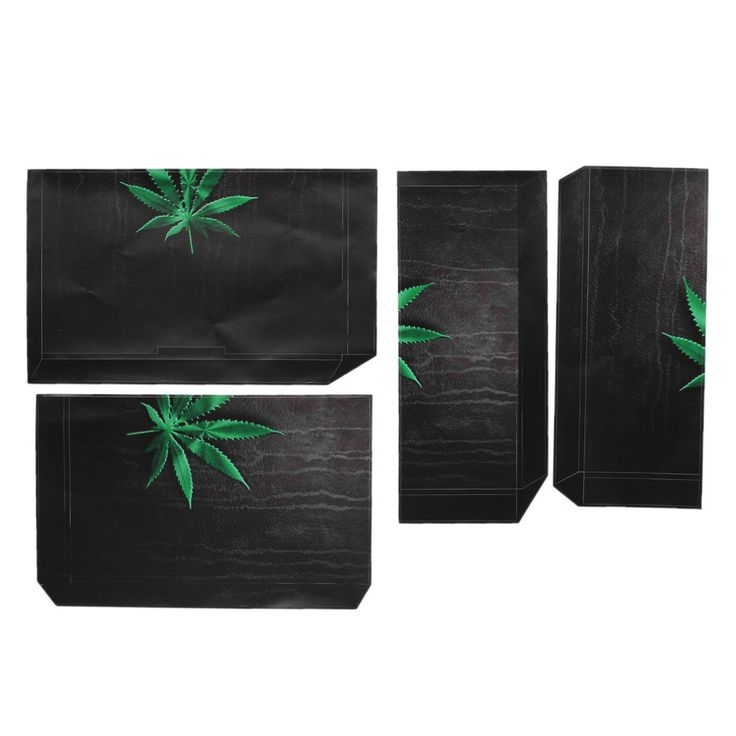 Weed Smoker Skin Sticker Cover for PS4 4 Console Decal Set Vinyl