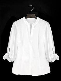 Resultado de imagen para camisas blancas para mujer