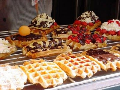 Missing Belgium? Make these waffles! Easy belgian waffle recipe from scratch | Sweet Additions