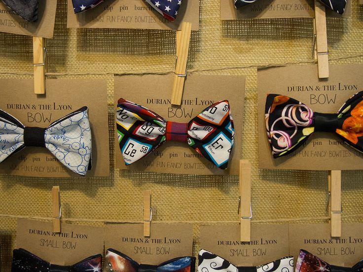 Nerdtastic bow ties, Kelly Durian