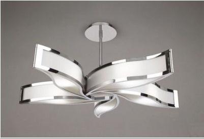 Hermosa lampara de techo dise o pinterest - Lamparas de techo habitacion ...
