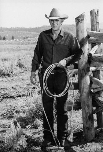 """NEVADA SMITH - Steve McQueen as 'Nevada Smith' - Based on characters in the novel """"The Carpetbaggers"""" by Harold Robbins - Directed by Henry Hathaway - Paramount - Publicity Still."""