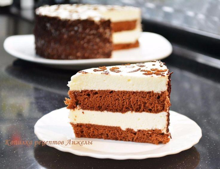 Простой рецепт бисквита для торта на молоке в форме диаметром 25