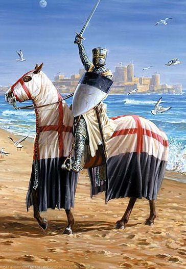 Knights Templar - During the Middle Ages, the pilgrims were being so mistreated by the Turks and Christians that the Knights Templar were formed to ensure their safety. Museum of French History