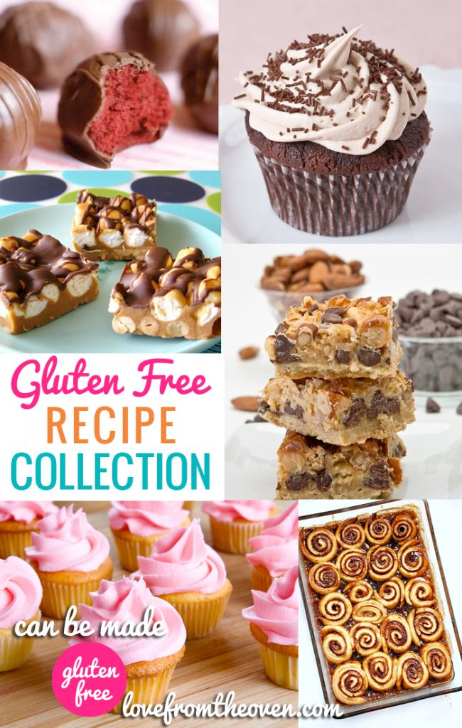 Gluten Free Baking Recipe Collection