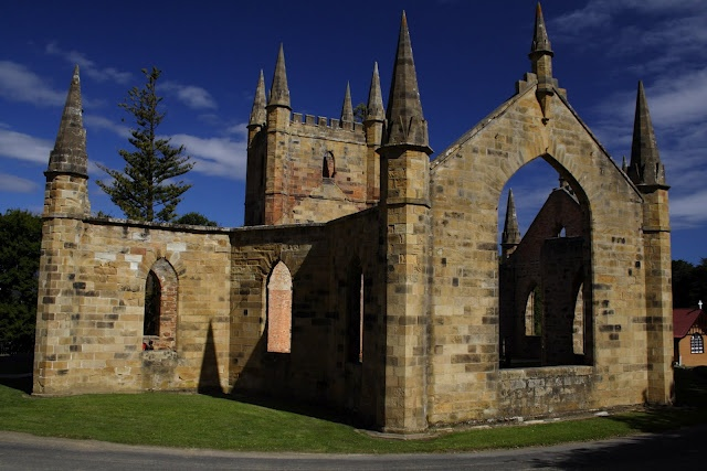 Church at Port Arthur Tasmania