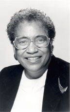 Willie Hobbs Moore--first African American woman to earn her Ph.D. in Physics.